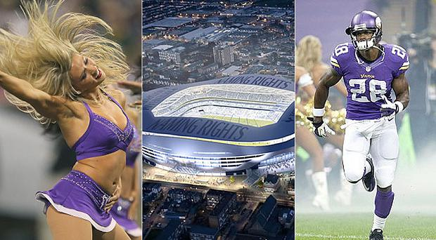 Home from home: Spurs will host NFL matches Photo: AFP
