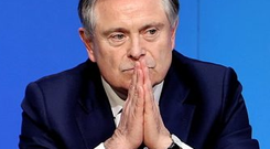 Brendan Howlin: 'A billion seems to be the annual figure that ministers for health demand, it's a nice round figure, and for the four years I've been here, it's the sum looked for'