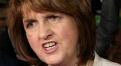 Joan Burton's remarks on 'predatory capitalism' reflect growing government frustration with the Clearys situation