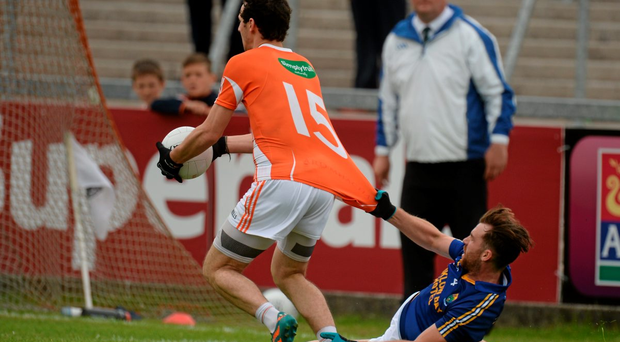 Jamie Clarke got past Wicklow's Aaron Murphy to score a goal, but can Galway hold Armagh back from the Championship quarter final?