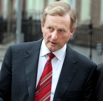 Enda Kenny did not have much time for the media at the EU summit