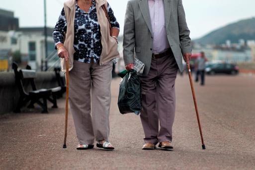 Life expectancy in Ireland is on the increase