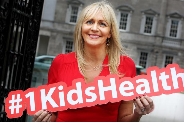 Keeping mum on presidential rumours: Miriam O'Callaghan. Photo: Tom Burke