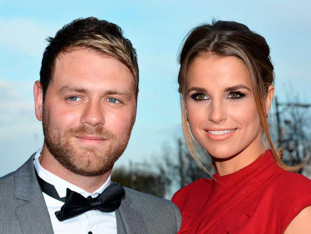 Vogue Williams and Brian McFadden at the VIP Style Awards 2013