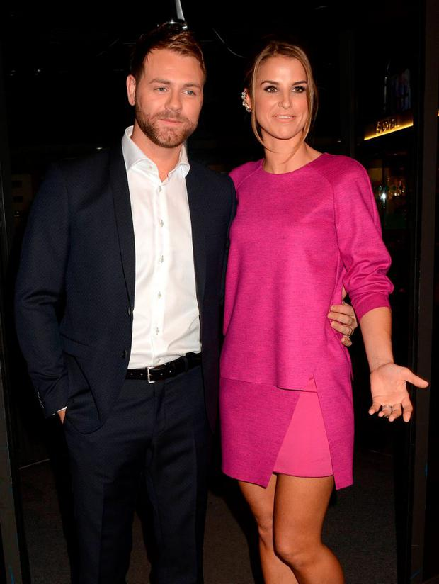 Brian McFadden, Vogue Williams McFadden in 2013