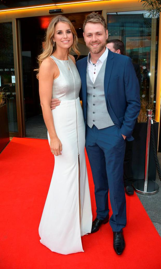 Vogue Williams and Brian McFadden at the VIP Style Awards 2014