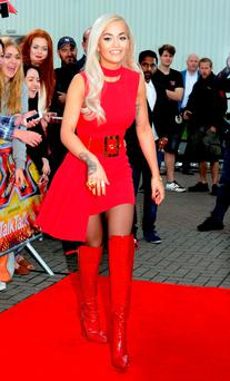 Rita Ora attends the first auditions for The X Factor 2015 on July 8, 2015 at Event City in Manchester, England.
