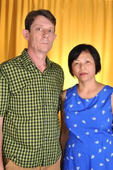 Eanna and his wife