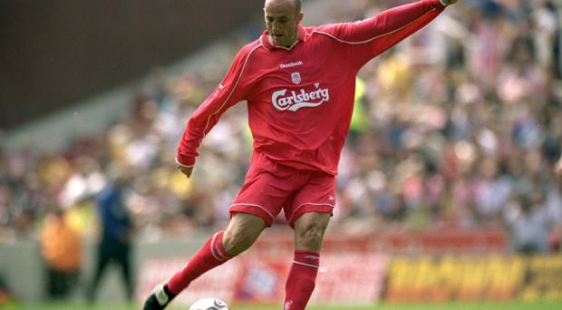 Gary McAllister in action during his Liverpool days