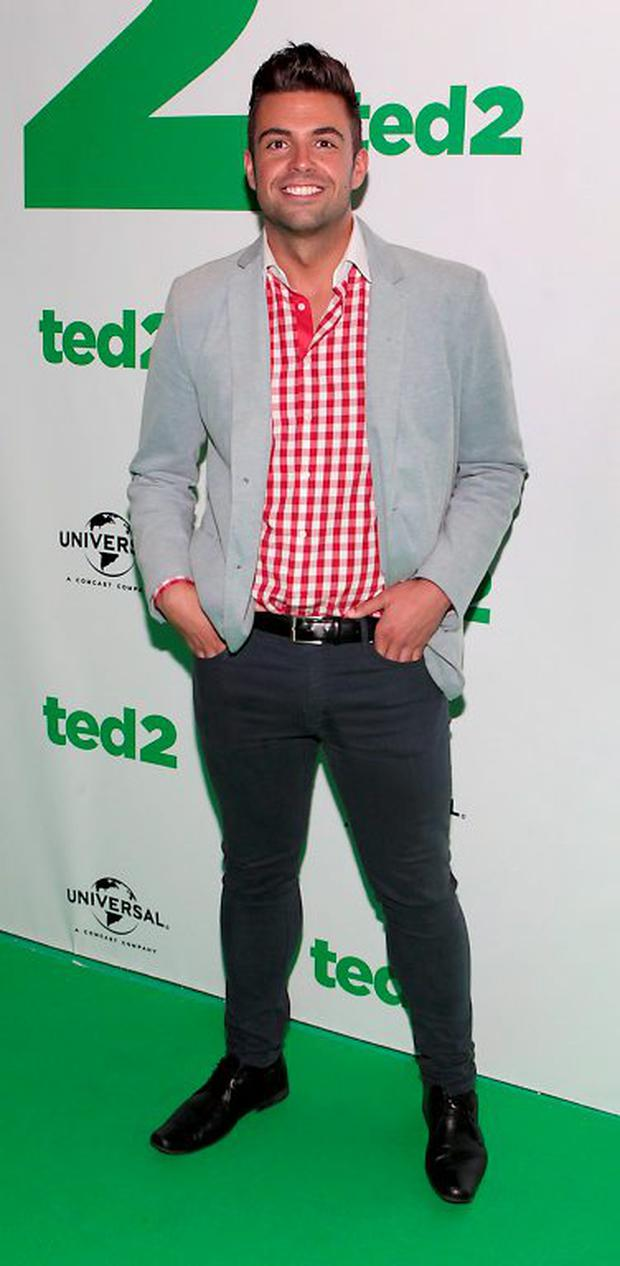 Mr Ireland Karl Bowe at The Irish Premiere Screening of Ted 2 at The Savoy Cinema,Dublin.