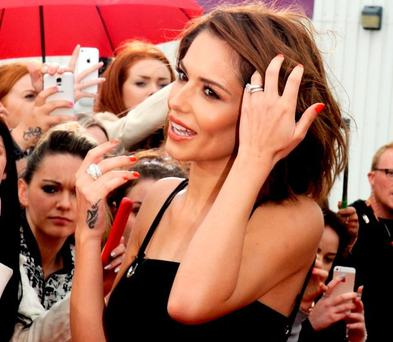 Cheryl Cole at the X Factor auditions 2015