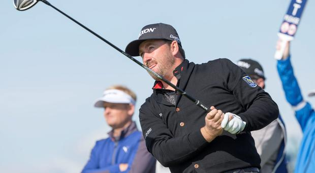 Graeme McDowell had a brilliant front nine at the Bridgestone Invitational