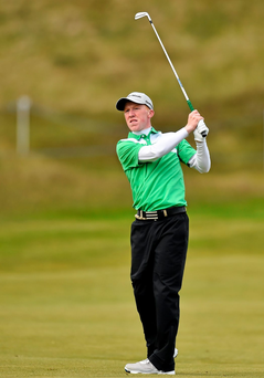Gavin Moynihan slipped to defeat at the European Amateur Championships