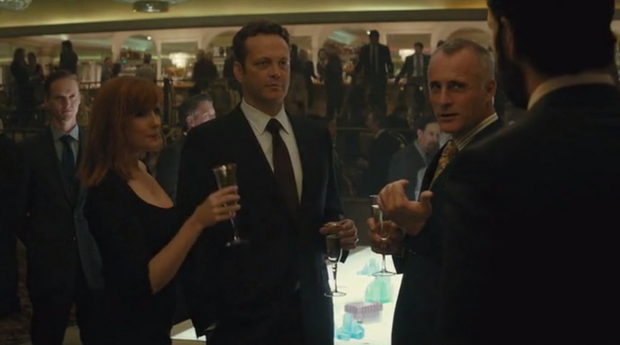 Timothy V Murphy and Vince Vaughn in True Detective