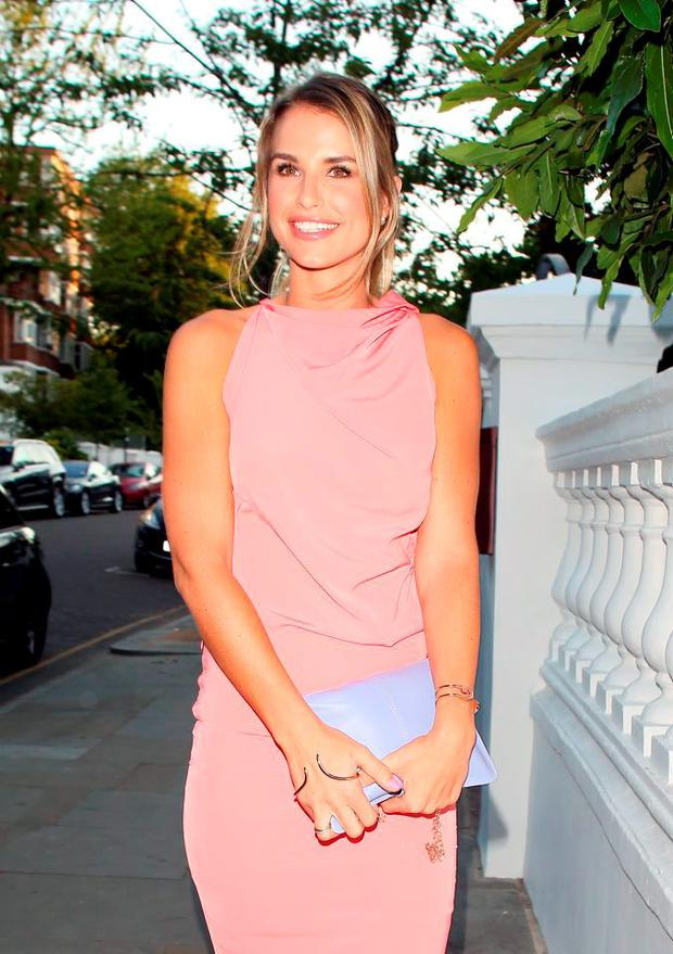 Vogue Williams attending the ITV summer party in Notting Hil on July 9, 2015 in London, England. (Photo by Mark Robert Milan/GC Images)