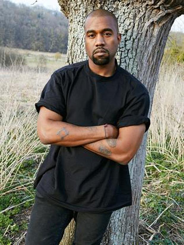 Kanye West shot by Juergen Teller for System Magazine