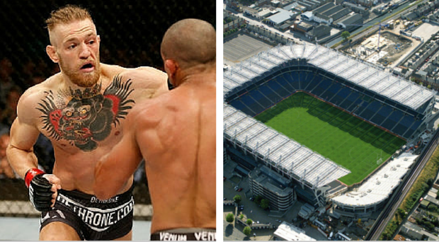 Conor McGregor could bring the UFC to Croke Park