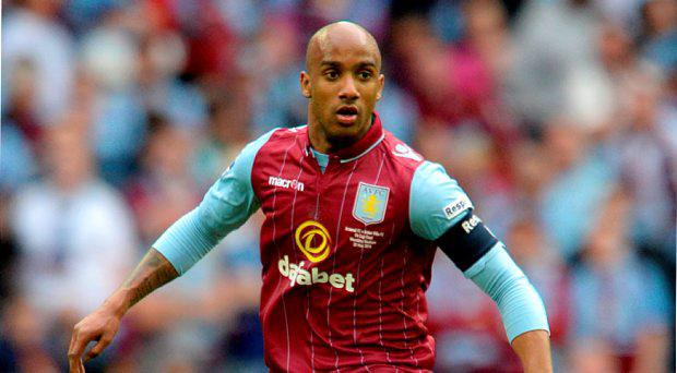 File photo dated 30-05-2015 of Aston Villa's Fabian Delph PRESS ASSOCIATION Photo. Issue date: Friday July 10, 2015. Aston Villa captain Fabian Delph appears to be on the verge of a move to Manchester City just six months after signing a lengthy contract extension with the midlanders. See PA story SOCCER Man City Delph. Photo credit should read Anthony Devlin/PA Wire.