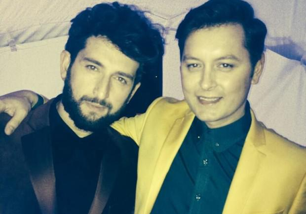 Brian Dowling and his boyfriend Arthur have been dating for three years