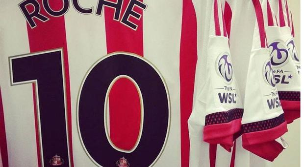 Stephanie Roche is hoping to help Sunderland with their title push