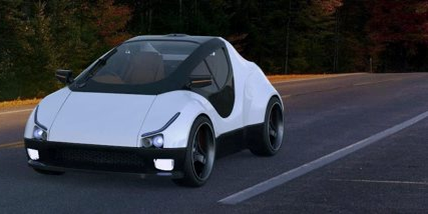 Rethought from the ground up, this is an Alex eroadster, which will retail for around €30,000