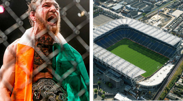Conor McGregor could grace the hallowed turf at Croke Park