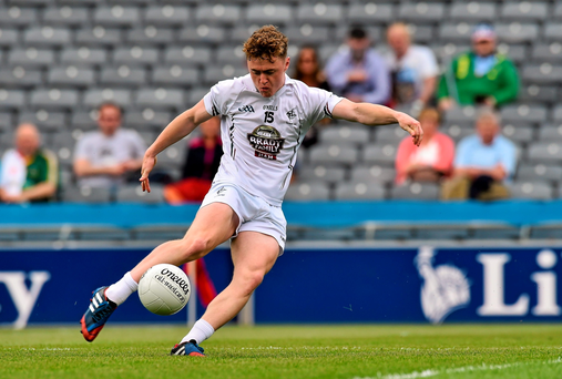 On fire: Kildare's Jimmy Hyland