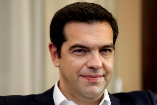Greek Prime Minister Alexis Tspiras - 'For sure, the Greeks are not backers in' (REUTERS/Alkis Konstantinidis)