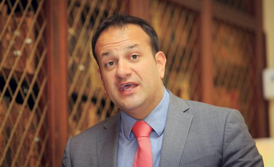 Leo Varadkar has been one year in the Department of Health and the prolonged 'honeymoon' is now very definitely over... (Photo: Gareth Chaney Collins)