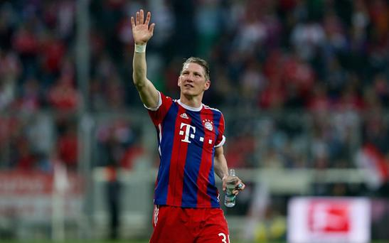 Bastian Schweinsteiger is moving to Manchester United
