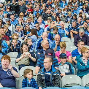 Sunday 12 July 2015. Croke Park. Leinster FInal, Dublin v Westmeath. Crowd.