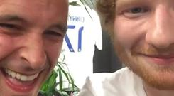 Tom Vaughan Lawlor and Ed Sheeran