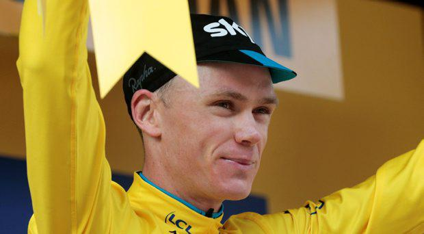 Britain's Christopher Froome