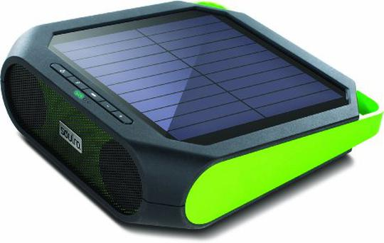 Soulra Rugged Rukus solar powered speaker