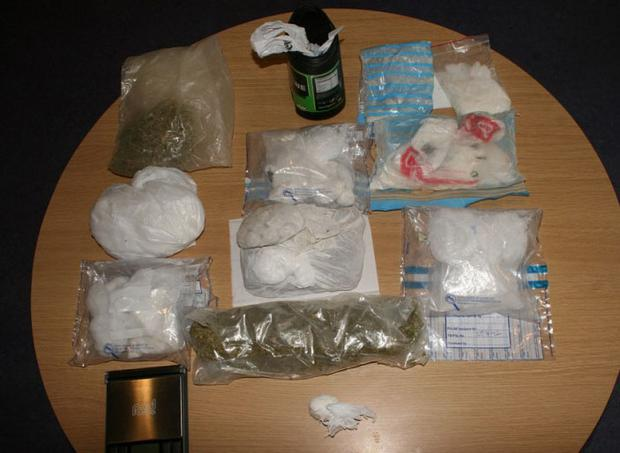 Some of the drugs which were seized by gardai