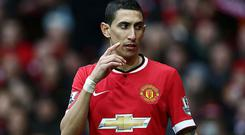 Angel Di Maria has been linked to PSG