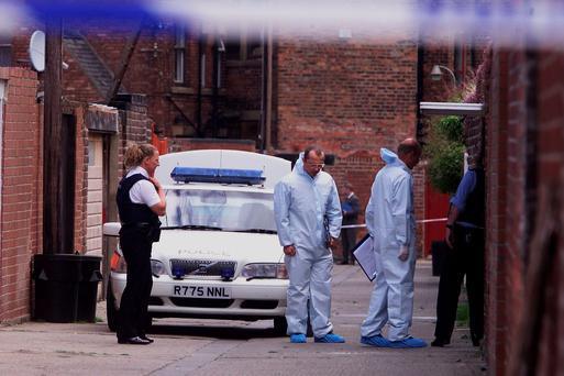 File photo from 16/06/99: Police activity in Whitley Bay, Tyneside, where IRA informer turned author Martin McGartland was shot. Photo: Owen Humphreys/PA Wire