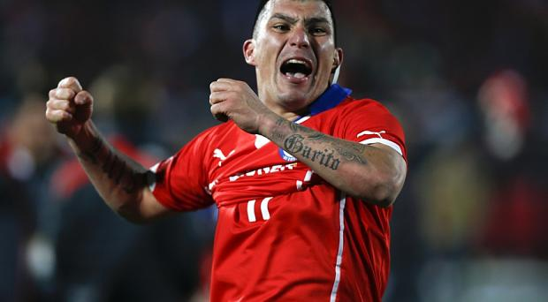Chile's Gary Medel