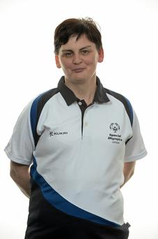 15 November 2014; Annita O'Connor, Tenpin Bowling, Carlow Special Olympics Club. Special Olympics Ireland Squad and Portraits, Louis Fitzgerald Hotel, Dublin. Picture credit: Piaras O Midheach / SPORTSFILE *** NO REPRODUCTION FEE ***