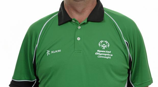 15 November 2014; Michael Conboy, Tenpin Bowling, Corrib Bowling Club. Special Olympics Ireland Squad and Portraits, Louis Fitzgerald Hotel, Dublin. Picture credit: Piaras O Midheach / SPORTSFILE *** NO REPRODUCTION FEE ***