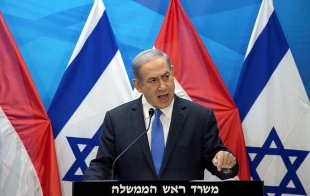 Israel's Prime Minister Benjamin Netanyahu he would do what he could to block Iran's nuclear ambitions Credit: Ahikam Seri