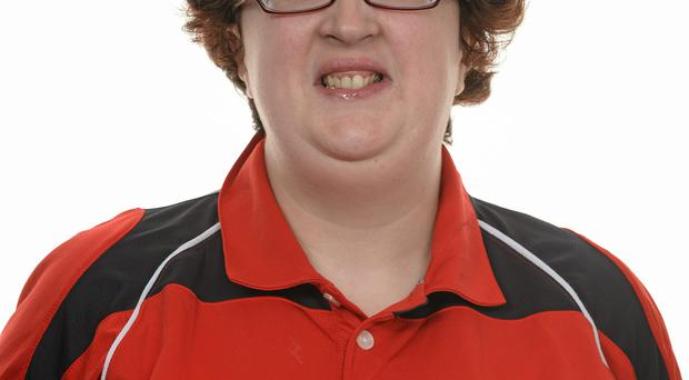 15 November 2014; Lisa O'Brien, Athletics, COPE Foundation Cork. Special Olympics Ireland Squad and Portraits, Louis Fitzgerald Hotel, Dublin. Picture credit: Piaras O Midheach / SPORTSFILE *** NO REPRODUCTION FEE ***