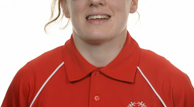 15 November 2014; Rachel Ryan, Athletics, Ormond Special Olympics Club. Special Olympics Ireland Squad and Portraits, Louis Fitzgerald Hotel, Dublin. Picture credit: Piaras O Midheach / SPORTSFILE *** NO REPRODUCTION FEE ***