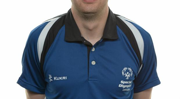 15 November 2014; Brian Hooper, Badminton, Special Olympics Club Gorey Area. Special Olympics Ireland Squad and Portraits, Louis Fitzgerald Hotel, Dublin. Picture credit: Piaras O Midheach / SPORTSFILE *** NO REPRODUCTION FEE ***