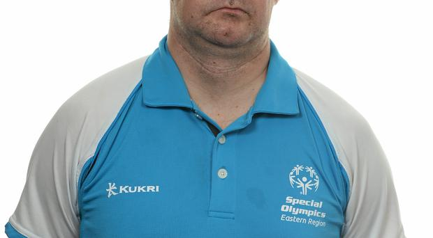 15 November 2014; Darren Bevins, Football 11, Lakers Special Olympics Club. Special Olympics Ireland Squad and Portraits, Louis Fitzgerald Hotel, Dublin. Picture credit: Piaras O Midheach / SPORTSFILE *** NO REPRODUCTION FEE ***