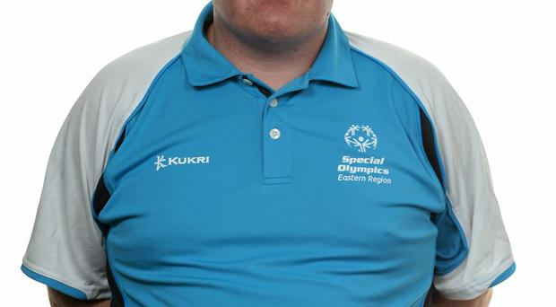 15 November 2014; Mark Duffy, Football 11, Cheeverstown House. Special Olympics Ireland Squad and Portraits, Louis Fitzgerald Hotel, Dublin. Picture credit: Piaras O Midheach / SPORTSFILE *** NO REPRODUCTION FEE ***