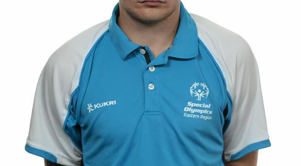 15 November 2014; Matthew Troy, Football 11, Sporting Fingal. Special Olympics Ireland Squad and Portraits, Louis Fitzgerald Hotel, Dublin. Picture credit: Piaras O Midheach / SPORTSFILE *** NO REPRODUCTION FEE ***
