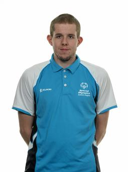 15 November 2014; Nathan Finney, Football 11, Sporting Fingal. Special Olympics Ireland Squad and Portraits, Louis Fitzgerald Hotel, Dublin. Picture credit: Piaras O Midheach / SPORTSFILE *** NO REPRODUCTION FEE ***