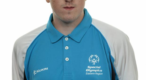 15 November 2014; Wayne McDonagh, Football 11, Lakers Special Olympics Club. Special Olympics Ireland Squad and Portraits, Louis Fitzgerald Hotel, Dublin. Picture credit: Piaras O Midheach / SPORTSFILE *** NO REPRODUCTION FEE ***
