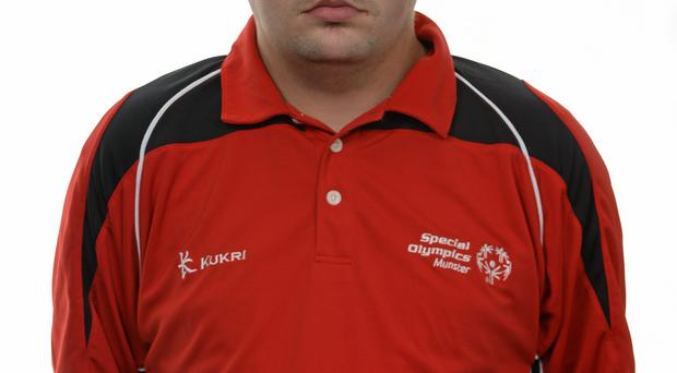15 November 2014; Damien Kirwan, Football 5, Waterford Special Olympics Club. Special Olympics Ireland Squad and Portraits, Louis Fitzgerald Hotel, Dublin. Picture credit: Piaras O Midheach / SPORTSFILE *** NO REPRODUCTION FEE ***